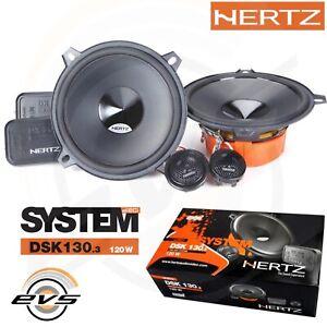 Hertz Dsk 130.3 Kit 4 Casse Altoparlanti 2 Vie Woofer 13 cm + Tweeter +Crossover