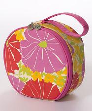 NWT Pretty VERA® Pink Floral ORGANIZER BAG / COSMETIC TRAVEL CASE, Orig.$50!