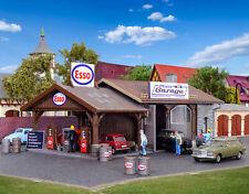 Vollmer 45599 - H0 Atelier de Réparation Pfizis Garage Avec Station-Service -
