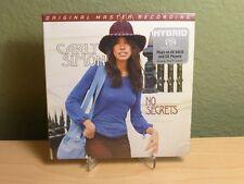 No Secrets by Carly Simon Hybrid SACD CD Mobile Fidelity Sound Lab MFSL Mofi New