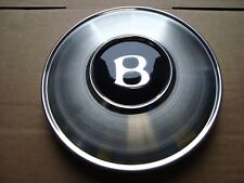 NEW GENUINE ORIGINAL BENTLEY  HUB CAP WHEEL TRIM STAINLESS WITH BADGE  UG13451
