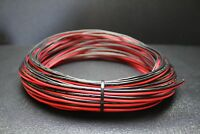 16 GAUGE PER 10 FT RED BLACK ZIP WIRE AWG CABLE POWER GROUND STRANDED COPPER CAR