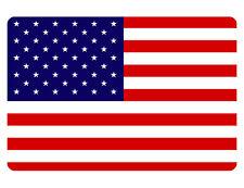 Us Flag Sign Custom Metal Sign Durable Aluminum No Rust Full Color Fus#539