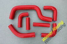 Silicone Radiator Hose RED for DUCATI MONSTER S4RS 05-06 (fits DUCATI)2005 2006