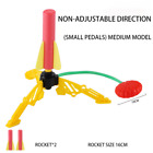 Kids Air Pressed Stomp Rocket Pedal Games Outdoor Sports Kids League Launchers S