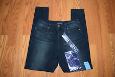 NWT Womens Bandolino Smooth Seamless Skinny Nightfall Dark Denim Jeans Sz 4