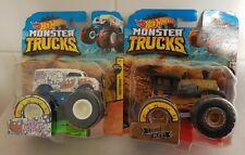 Hot Wheels Monster Trucks Loco Punk & Milk Monster 1:64  NEW/SEALED