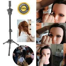 Adjustable Wig Head Stand Mannequin Tripod Hairdressing Training Holder&Bag