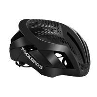 RockBros MTB Road Bike Cycling 57cm-62cm EPS Integrally Helmet 3 in 1 Black