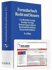 Formularbuch Recht und Steuern (2014) 8. Auflage