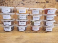 16 Whole Ground & Dried Spices ~  Cumin Coriander Fennel  Chilli Curry Spice Kit