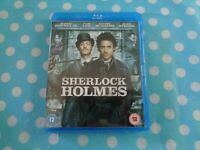 Sherlock Holmes Blu-Ray (2010) Robert Downey Jr, Ritchie (DIR) cert 12,free p+p