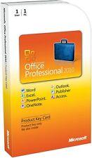 Microsoft Office 2010 Professional Plus MS Office 2010 Key Card 1PC/1User
