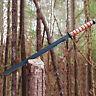 "28"" FULL TANG Marine Combat Tactical SWORD MACHETE Knife Katana Tanto w/ Sheath"