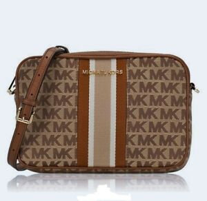 Michael Kors Bag/Shoulder Bag Jet Set Item LG Ew Crossbody Bg / Eb Luggage
