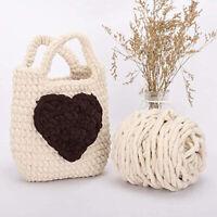 Chenille Yarn Super Soft Bulky Chunky Arm Knitting Yarn for Fluffy ChunkyBlanket