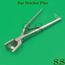 Ear Notcher Plier Punch shape Veterinary Instruments New