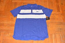 NIKE ADVANTAGE DRI-FIT COOL MENS TENNIS POLO -  MENS SIZE  LARGE