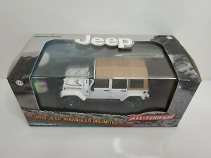 Rare Greenlight All-Terrain 2018 Jeep Wrangler Unlimited Green Machine Chase