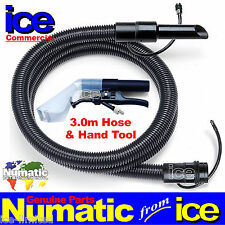 Numatic CT 370 GVE George Car Valeting Upholstery Cleaning Hose & Hand Tool A42