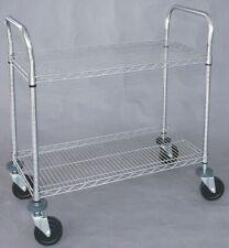 Zoro Select 1Ecj5 Wire High Cart,Heavy Duty,24X48x39 In