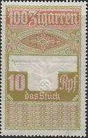 Stamp Germany Revenue WWII Fascism War Era War Cigar Ration 10 MNG