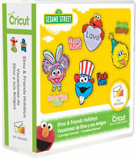Cricut Elmo and Friends Holiday Sesame Street Cartridge Use w/All Machines