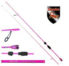 Scorpion Ultra Light Pink Spoon Checker Perche 210 cm spoonrute forellenrute 0-5...