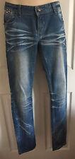 Cherry Diffusion Denim Straight Skinny Jeans EUR 42