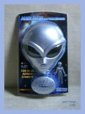 Alien Mask With Voice Changer Simulator MOSC Vtg RARE