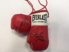 Mini guantes de boxeo Carl Frampton Autografiada