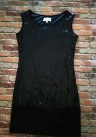 Tsumori Chisato Black Sequin Dress Size Medium Made In Italy