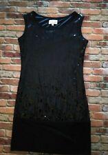 Tsumori Chisato Black Sequin Dress Size Medium Made In Italy