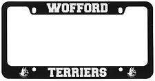 Wofford College-Metal License Plate Frame-Black
