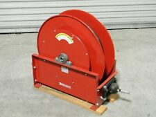 ReelCraft Heavy-Duty Spring Retractable Hose Reel 75 Ft. x 1/2 In. D9275 Ompbw