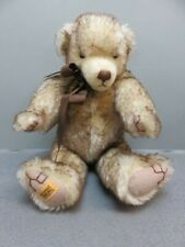 Merrythought Teddy Bear Made in England, Limited edition #95 of 1000 Signed tag