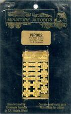 Miniature Autobits 1:24 1:25 Pre-1963 British Number Plates - PE Detail #NP002