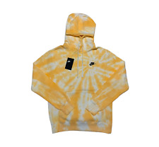 """Nike Sportswear """"Ivory Yellow"""" Spiral Tie Dye Hoodie by Fye Island"""