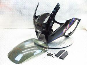 1990 88-90 Yamaha FJ1200 Front Nose Headlight Fairing Panel Windscreen Cowl OEM