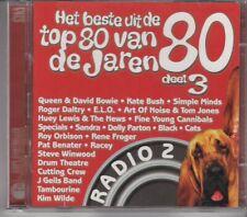 HET BESTE UIT DE TOP 80 D3 2-CD 80'S Queen Bowie Simple Minds Specials Kim Wilde