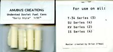 Anubus Creations 1:35 Undented Soviet Fuel Cans Early T-34/SU/KV/IS Resin #T34
