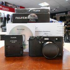 Used Fujifilm X100T Compact in Black- 1 YEAR GTEE