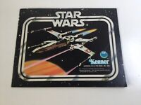 Vintage Star Wars Booklet Kenner Toy 1978 Mini Catalogue  X-Wing Cover