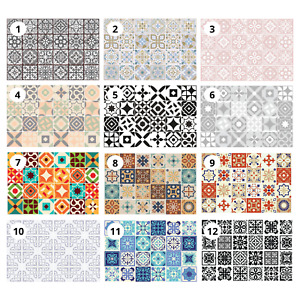 Peel and Stick Tiles Transfer Sticker Kitchen Self-Adhesive Wall Tile Paint 15cm
