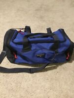 RALPH Sport LAUREN POLO DUFFEL Blue Gym Travel BAG Overnight Weekender Vintage