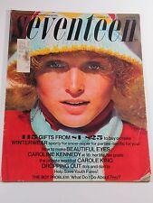 Seventeen Magazine- November 1973- Caroline Kennedy, Carole King