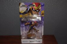 NEW SEALED US Version Captain Falcon Amiibo Super Smash Bros Wii U USA Seller