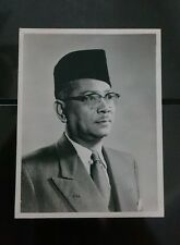 1960 Federation of Malaya Prime Minister - Tunku Abdul Rahman Putra Photo 东姑阿都拉曼