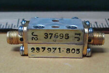 237971-805 Mesc Electronics Fixed Attenuator With Sma Fittings New Old Stock