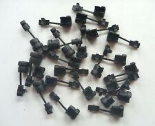 20 pcs Strain Relief Bushing 18 awg 18/2 power cable Nylon Black Richco Essentra